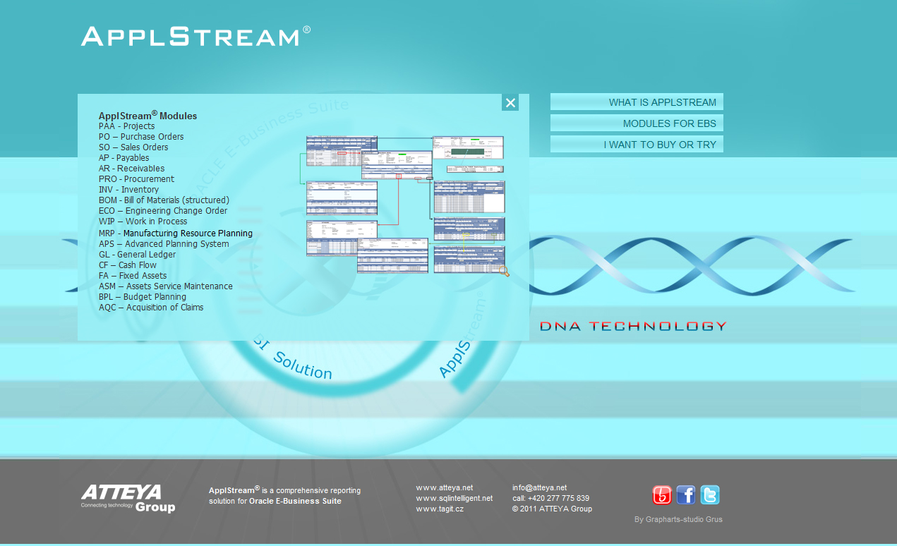 applstream net 2