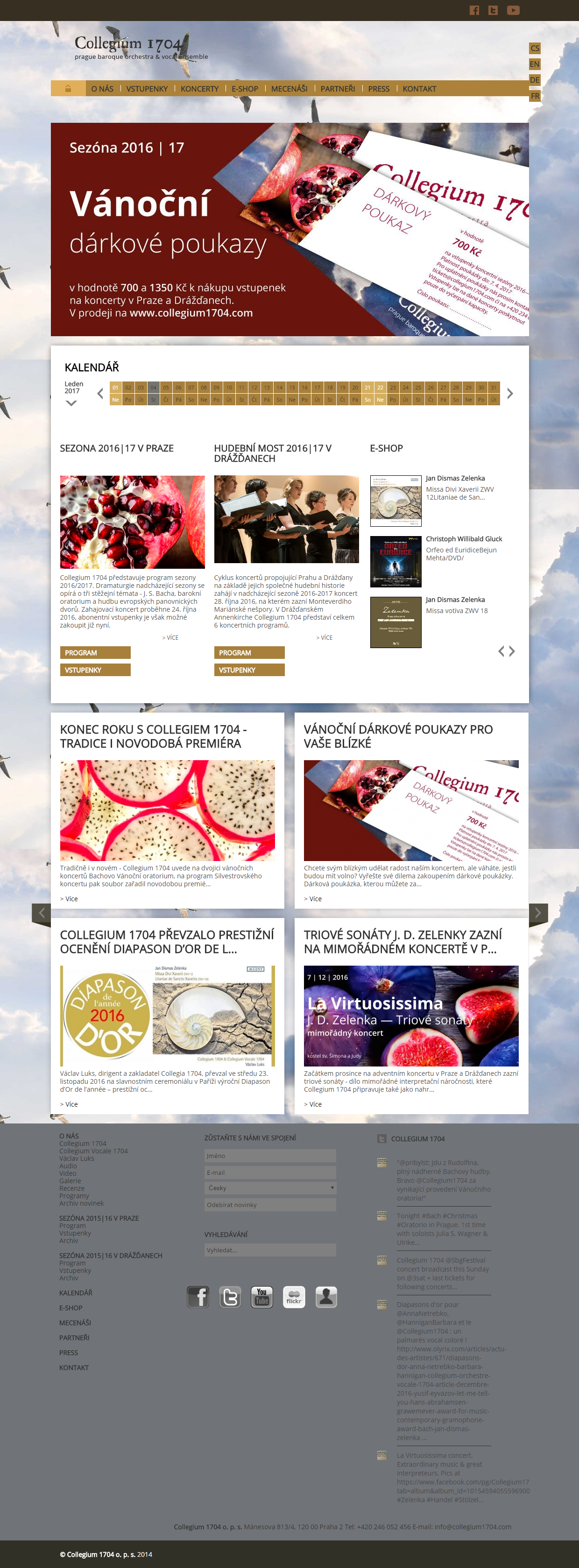 collegium1704 homepage